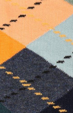 Женские носки argyle sock HAPPY SOCKS разноцветного цвета, арт. ARY01 | Фото 2
