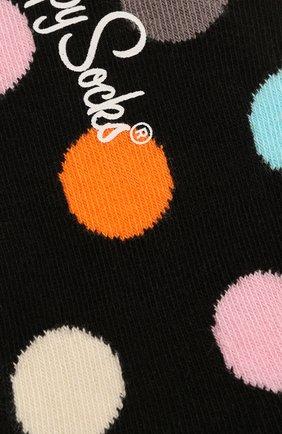 Женские подследники big dot liner sock HAPPY SOCKS разноцветного цвета, арт. BD06 | Фото 2