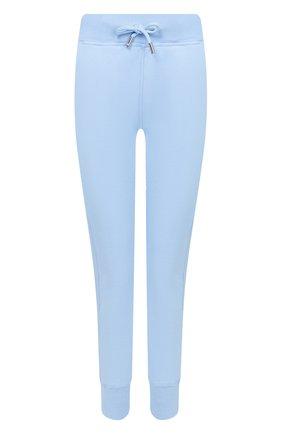 Женские хлопковые джоггеры DSQUARED2 голубого цвета, арт. S73KA0473/S25030 | Фото 1
