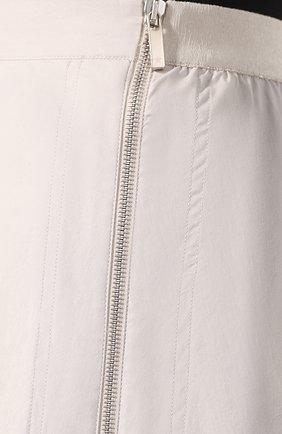 Женская юбка LORENA ANTONIAZZI бежевого цвета, арт. E2003G0009/3193 | Фото 5 (Женское Кросс-КТ: Юбка-одежда; Материал внешний: Хлопок; Длина Ж (юбки, платья, шорты): Миди)