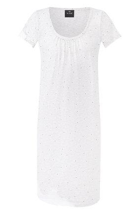 Женская хлопковая сорочка LE CHAT серого цвета, арт. SMOOTHIE801   Фото 1