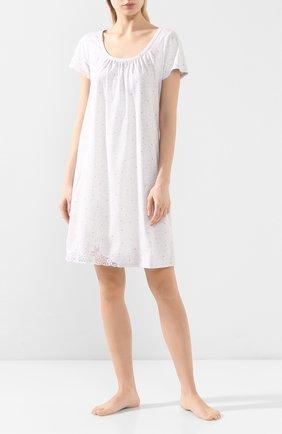 Женская хлопковая сорочка LE CHAT серого цвета, арт. SMOOTHIE801   Фото 2