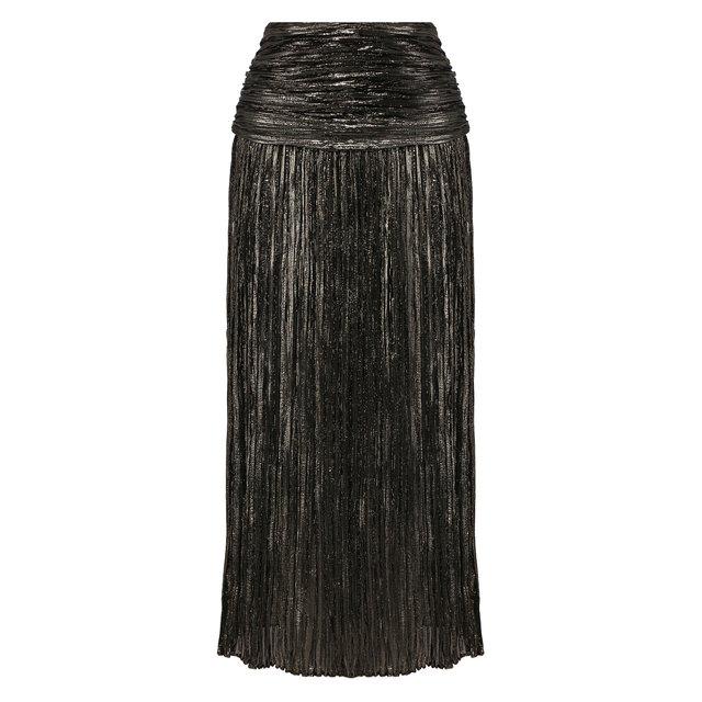 Шелковая юбка Saint Laurent
