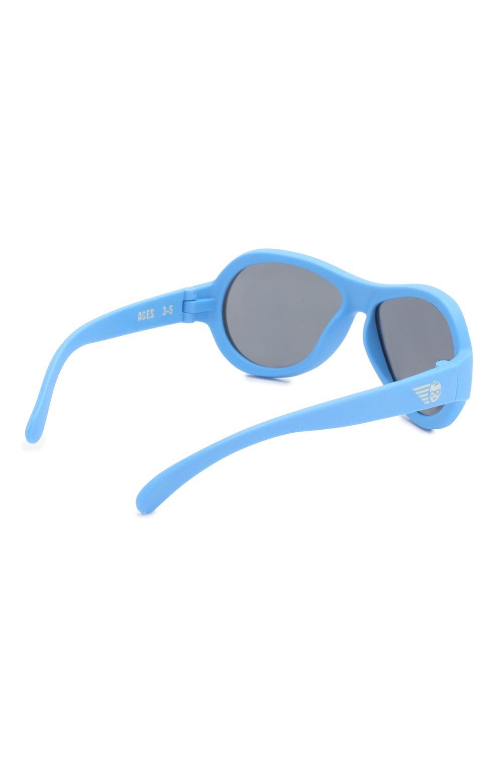 Детские солнцезащитные очки BABIATORS синего цвета, арт. BAB-031 | Фото 2