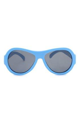 Детские солнцезащитные очки BABIATORS синего цвета, арт. BAB-031 | Фото 3