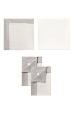Мужского комплект постельного белья FRETTE серого цвета, арт. FR6565 E3440 260A | Фото 1