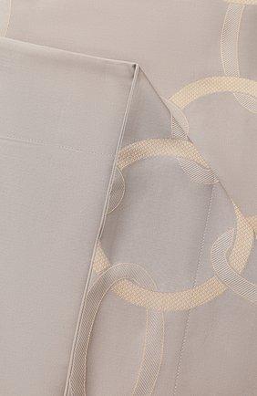 Мужского хлопковая наволочка FRETTE серого цвета, арт. FR6593 E0741 065B | Фото 2