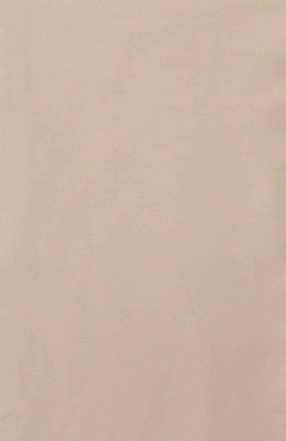 Мужского хлопковая простынь FRETTE бежевого цвета, арт. FR0000 E0200 180L   Фото 2