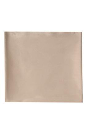 Мужского хлопковая простынь FRETTE бежевого цвета, арт. FR0000 E0200 180L   Фото 3