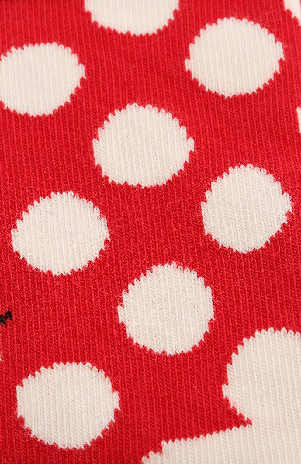 Детские носки HAPPY SOCKS разноцветного цвета, арт. KBDS01 | Фото 2 (Материал: Текстиль, Хлопок)