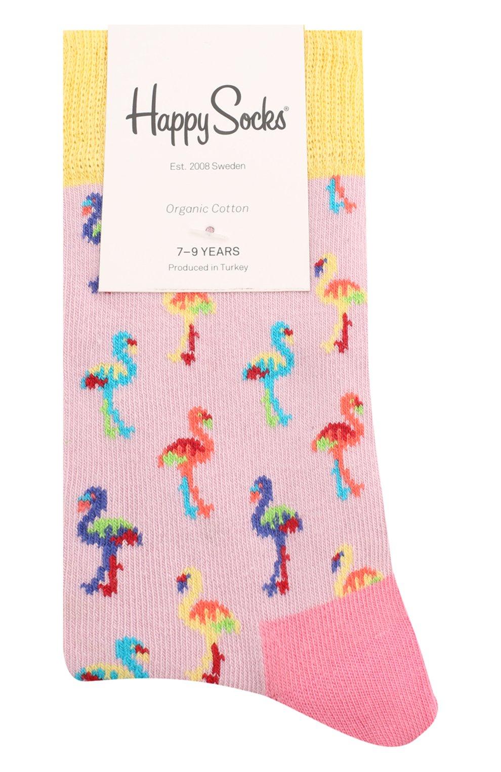 Детские носки HAPPY SOCKS разноцветного цвета, арт. KFMN01 | Фото 1