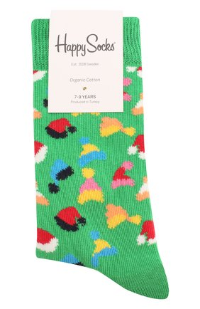 Детские носки HAPPY SOCKS разноцветного цвета, арт. KSAH01 | Фото 1