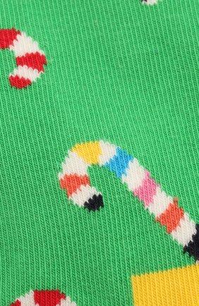 Детские носки HAPPY SOCKS разноцветного цвета, арт. KCC01 | Фото 2