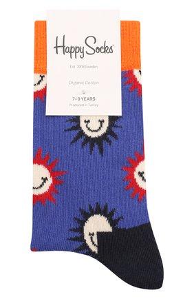 Детские носки HAPPY SOCKS разноцветного цвета, арт. KSMS01 | Фото 1