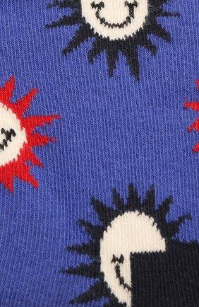 Детские носки HAPPY SOCKS разноцветного цвета, арт. KSMS01 | Фото 2