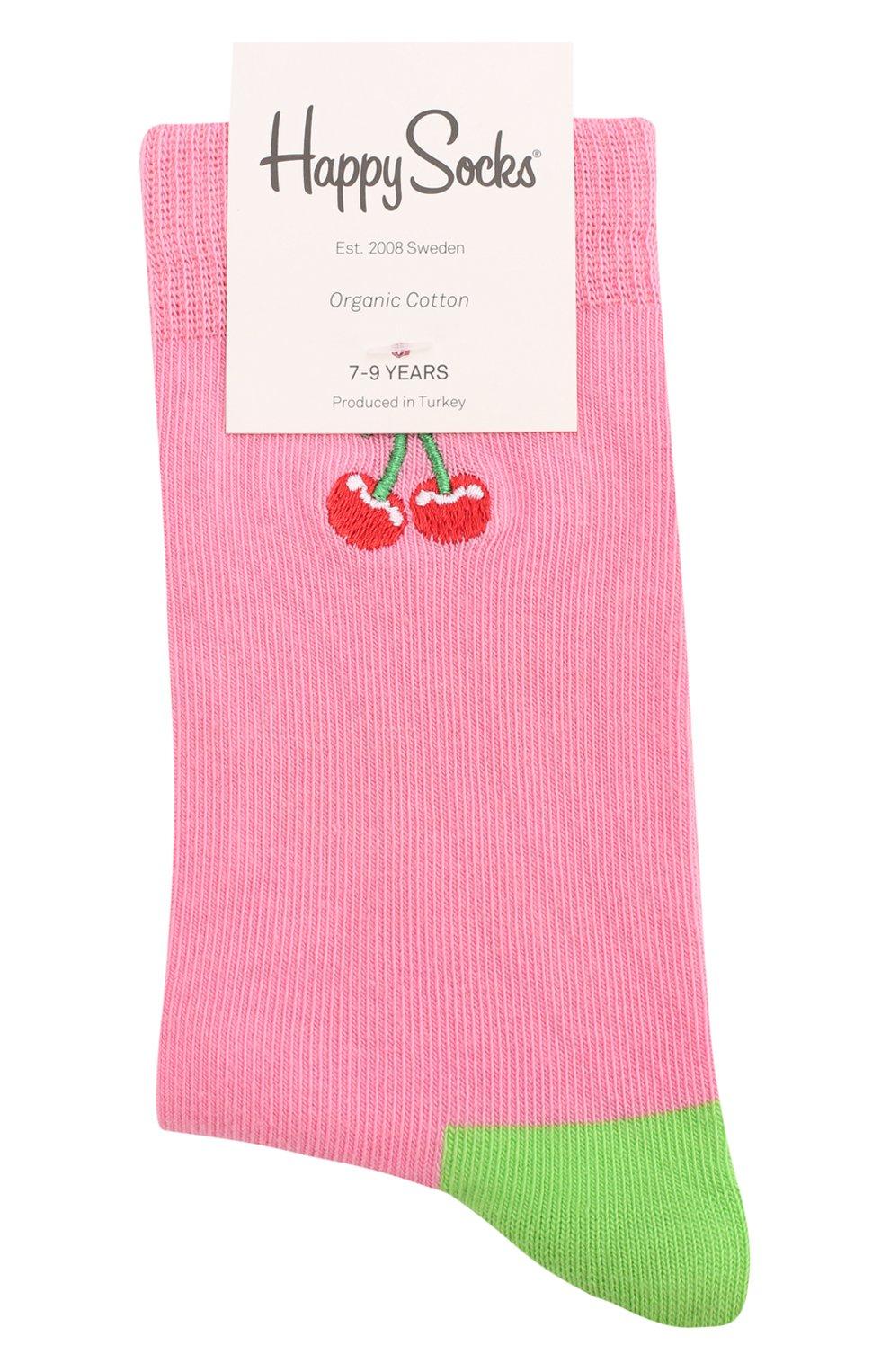 Детские носки HAPPY SOCKS разноцветного цвета, арт. KBECH01 | Фото 1