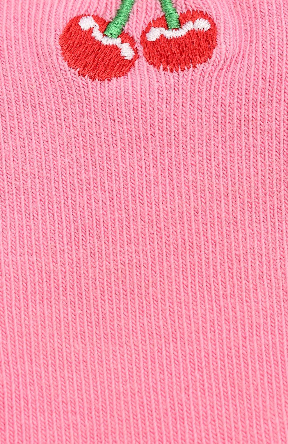 Детские носки HAPPY SOCKS разноцветного цвета, арт. KBECH01 | Фото 2