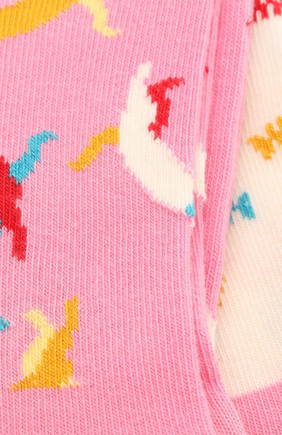 Детские комплект из 2 пар носков HAPPY SOCKS разноцветного цвета, арт. KCAT02 | Фото 2