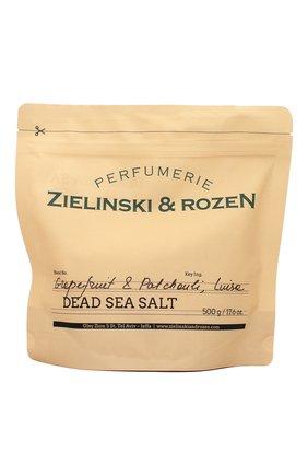 Женского соль мертвого моря grapefruit & patchouli, luisa ZIELINSKI&ROZEN бесцветного цвета, арт. 4627153152989 | Фото 1