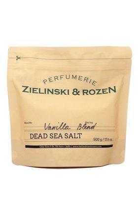 Женского соль мертвого моря vanilla blend ZIELINSKI&ROZEN бесцветного цвета, арт. 4627153152965 | Фото 1