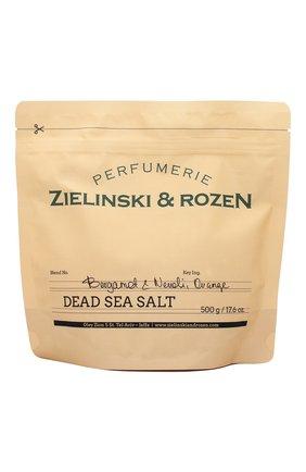 Женского соль мертвого моря bergamot & neroli, orange ZIELINSKI&ROZEN бесцветного цвета, арт. 4627153152996 | Фото 1