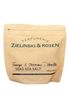 Женского соль мертвого моря orange & jasmine, vanilla ZIELINSKI&ROZEN бесцветного цвета, арт. 4627153152972 | Фото 1