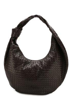 Женская сумка bv jodie maxi BOTTEGA VENETA темно-коричневого цвета, арт. 618468/VCPP0 | Фото 1