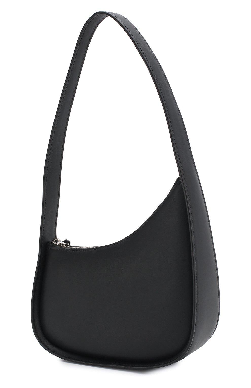 Женская сумка half moon THE ROW черного цвета, арт. W1249L52   Фото 3 (Сумки-технические: Сумки top-handle; Материал: Натуральная кожа; Размер: mini)