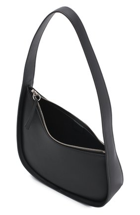 Женская сумка half moon THE ROW черного цвета, арт. W1249L52   Фото 4 (Сумки-технические: Сумки top-handle; Материал: Натуральная кожа; Размер: mini)