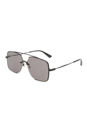 Мужские солнцезащитные очки MCQ SWALLOW черного цвета, арт. MQ0264SA 001 | Фото 1