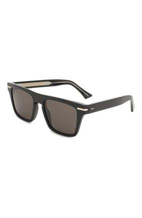 Мужские солнцезащитные очки CUTLERANDGROSS черного цвета, арт. 135701   Фото 1