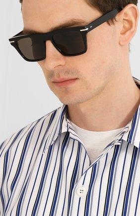 Мужские солнцезащитные очки CUTLERANDGROSS черного цвета, арт. 135701   Фото 2