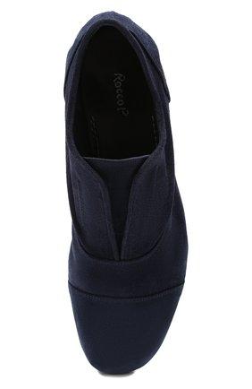 Мужские замшевые оксфорды ROCCO P. темно-синего цвета, арт. 10004/0LE0   Фото 5