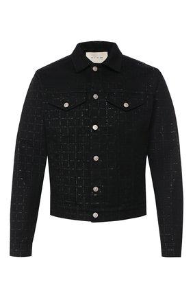 Мужская джинсовая куртка 1017 ALYX 9SM черного цвета, арт. AAU0U0052FA01 | Фото 1