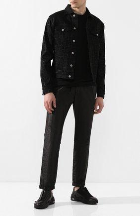 Мужская джинсовая куртка 1017 ALYX 9SM черного цвета, арт. AAU0U0052FA01 | Фото 2