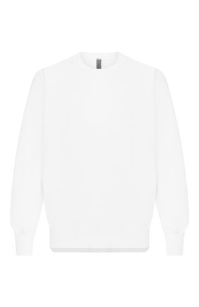 Мужской хлопковый свитшот KAZUYUKI KUMAGAI белого цвета, арт. KJ01-042   Фото 1
