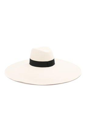 Женская шляпа BALMAIN черно-белого цвета, арт. TF1A029/A020 | Фото 2