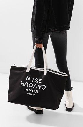 Женская сумка-шопер 5PREVIEW черного цвета, арт. W503 | Фото 2