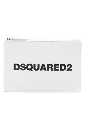 Женский клатч DSQUARED2 белого цвета, арт. P0W0007 01501652 | Фото 1