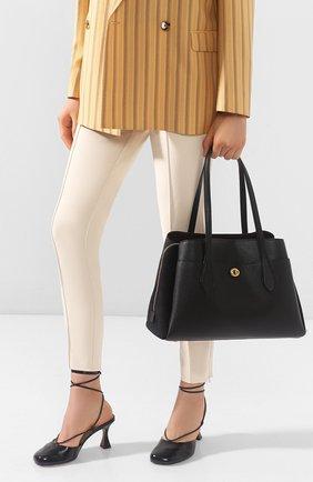 Женская сумка lora COACH черного цвета, арт. 89486 | Фото 2