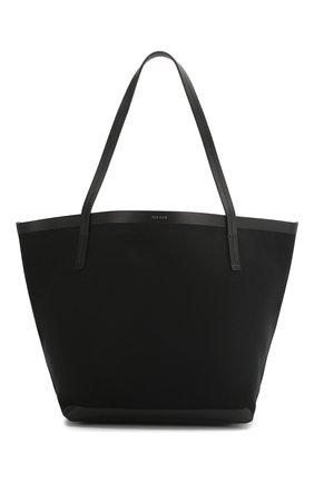 Женская сумка-шопер park THE ROW черного цвета, арт. W1241V20L52 | Фото 1