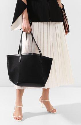 Женская сумка-шопер park THE ROW черного цвета, арт. W1241V20L52 | Фото 2
