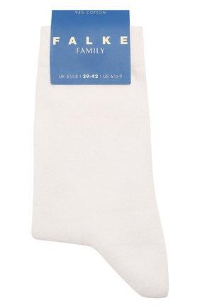 Детские хлопковые носки FALKE белого цвета, арт. 10645 | Фото 1