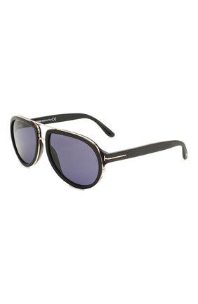 Мужские солнцезащитные очки TOM FORD черного цвета, арт. TF779 | Фото 1