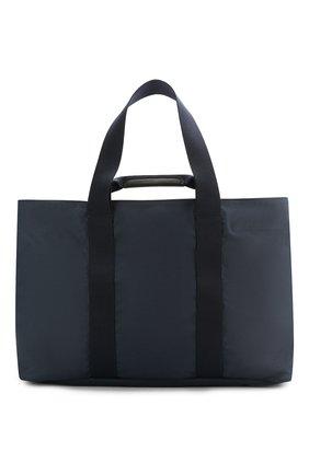 Мужская текстильная дорожная сумка GIORGIO ARMANI темно-синего цвета, арт. Y2N127/YFR6J | Фото 1