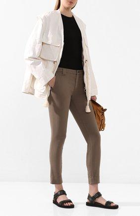 Женские брюки J BRAND бежевого цвета, арт. JB002706 | Фото 2
