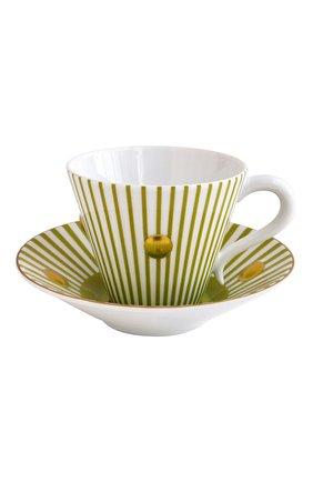 Набор Delphos Absinthe из четырех чашек с блюдцами | Фото №2