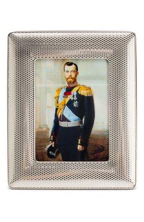 Мужская рамка для фото caviar TSAR серебряного цвета, арт. 4290913 | Фото 2