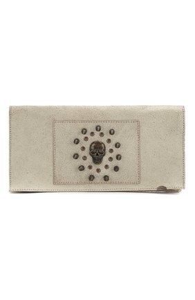 Женский клатч HARLEY-DAVIDSON серого цвета, арт. 97796-15VW | Фото 1