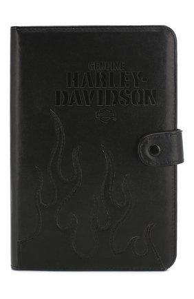Мужской чехол для ipad HARLEY-DAVIDSON черного цвета, арт. 6908 | Фото 1